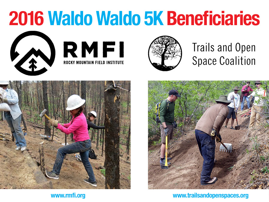 Beneficiaries are Rocky Mountain Field Institute and the Trails and Open Space Coalition